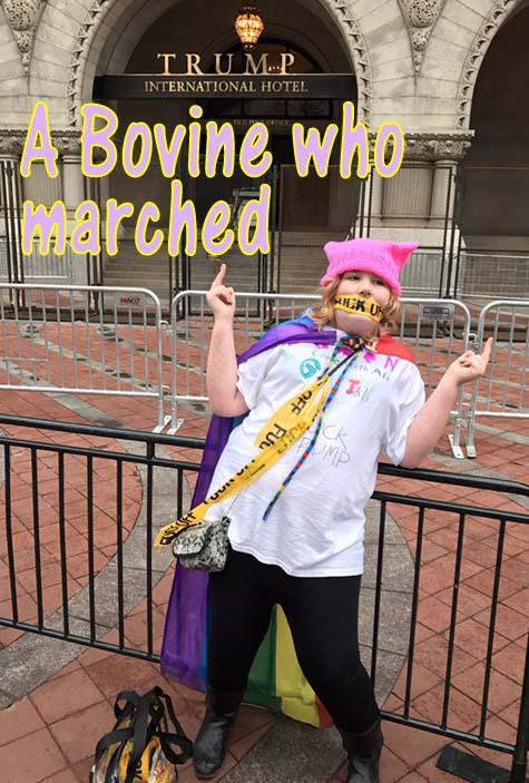 elsie-marching