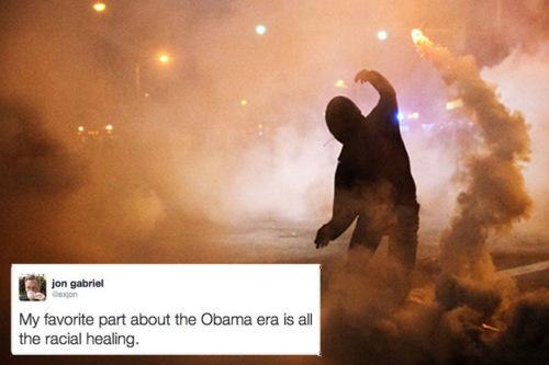 Obama era racial healing