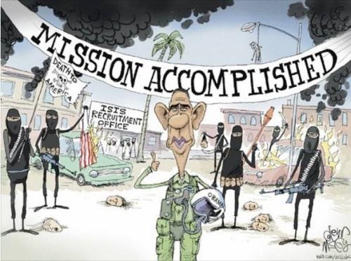 OBAMA ISIS Obama mission accomplished