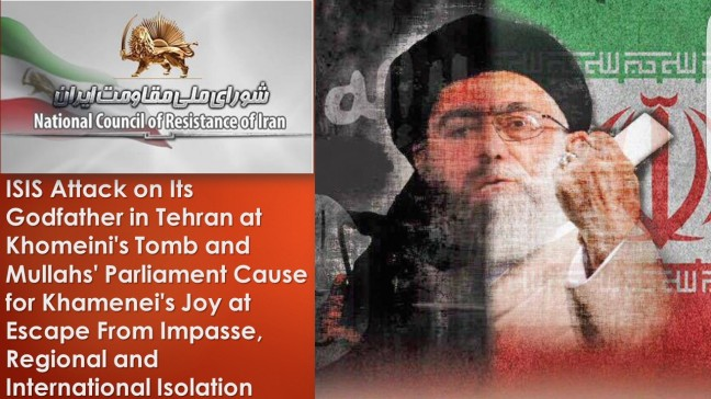 ISIS Attack on Its Godfather in Tehran at